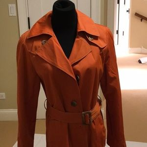 Gallery rain jacket, size med